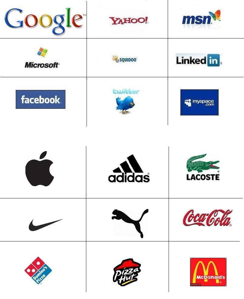 logo designs popular logos