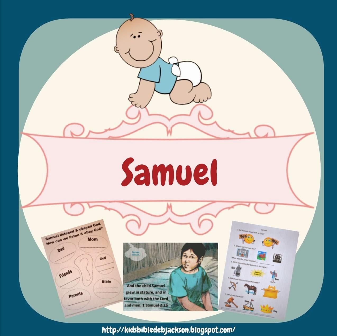 http://kidsbibledebjackson.blogspot.com/2014/01/samuel.html