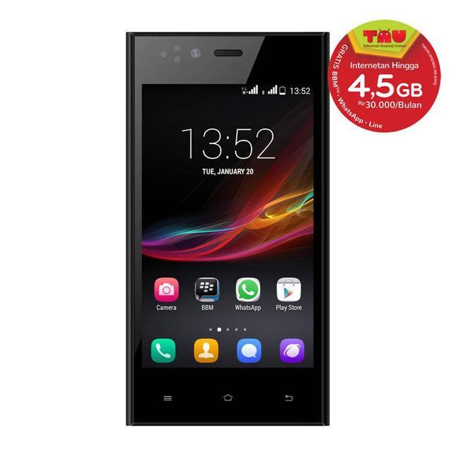 SPC S16 Flazz, Smartphone Android Quad Core Cuma Rp600 Ribuan