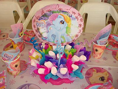 My Little Pony Centro De Mesa
