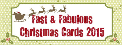 Get Full Instructions for 14 Fast and Fabulous Christmas Cards to make direct to your email in box here