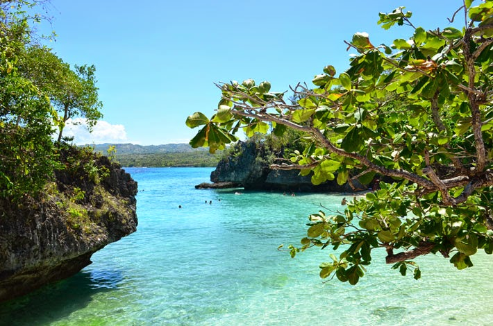 Salagdoong Beach, Siquijor Island, Philippines