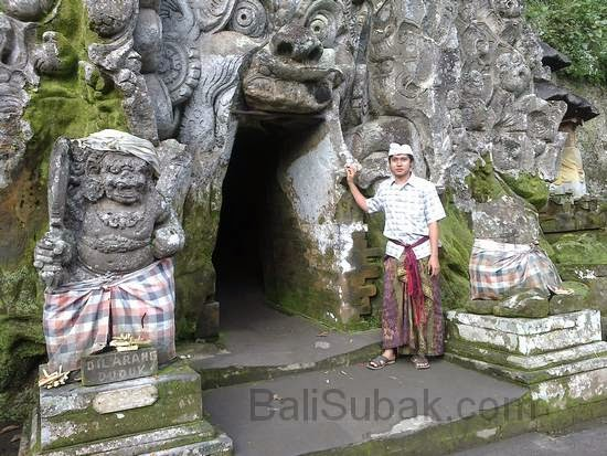 Goa Gajah (Elephant Cave) in Gianyar
