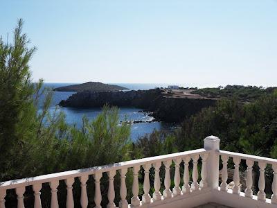 es Canar, Ibiza view