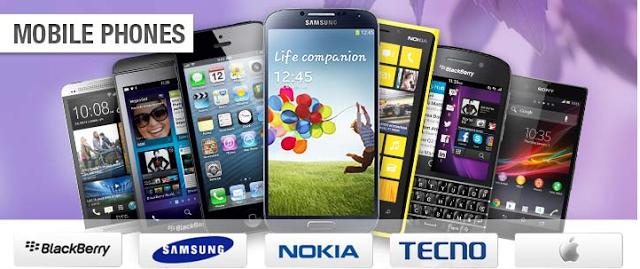 Slots phones price lists