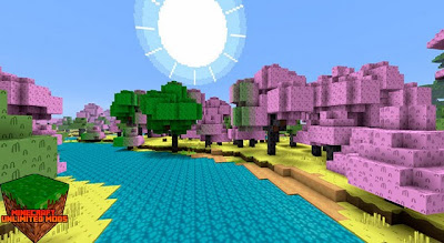 Adventure Time Craft Texture Pack bosque