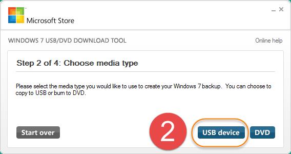 bootable Windows 7 USB/DVD maker