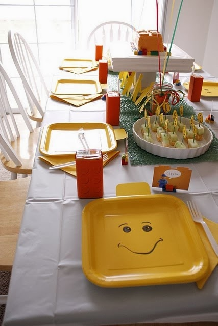 Lego decoraci n de fiestas de cumplea os fiestas y - Todo para fiestas de cumpleanos ...