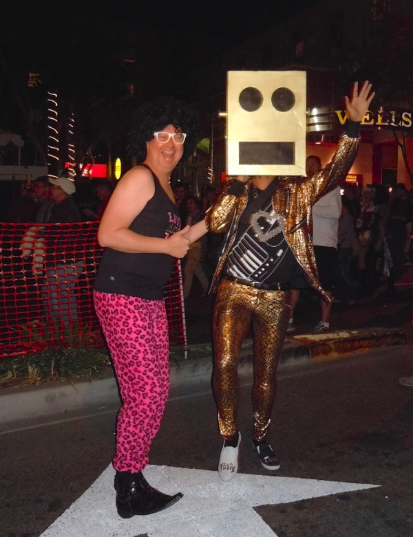 LMFAO costumes West Hollywood Halloween 2011
