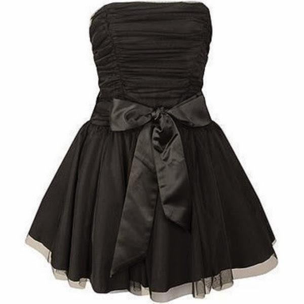 modelo de vestido preto tomara que caia - dicas e fotos