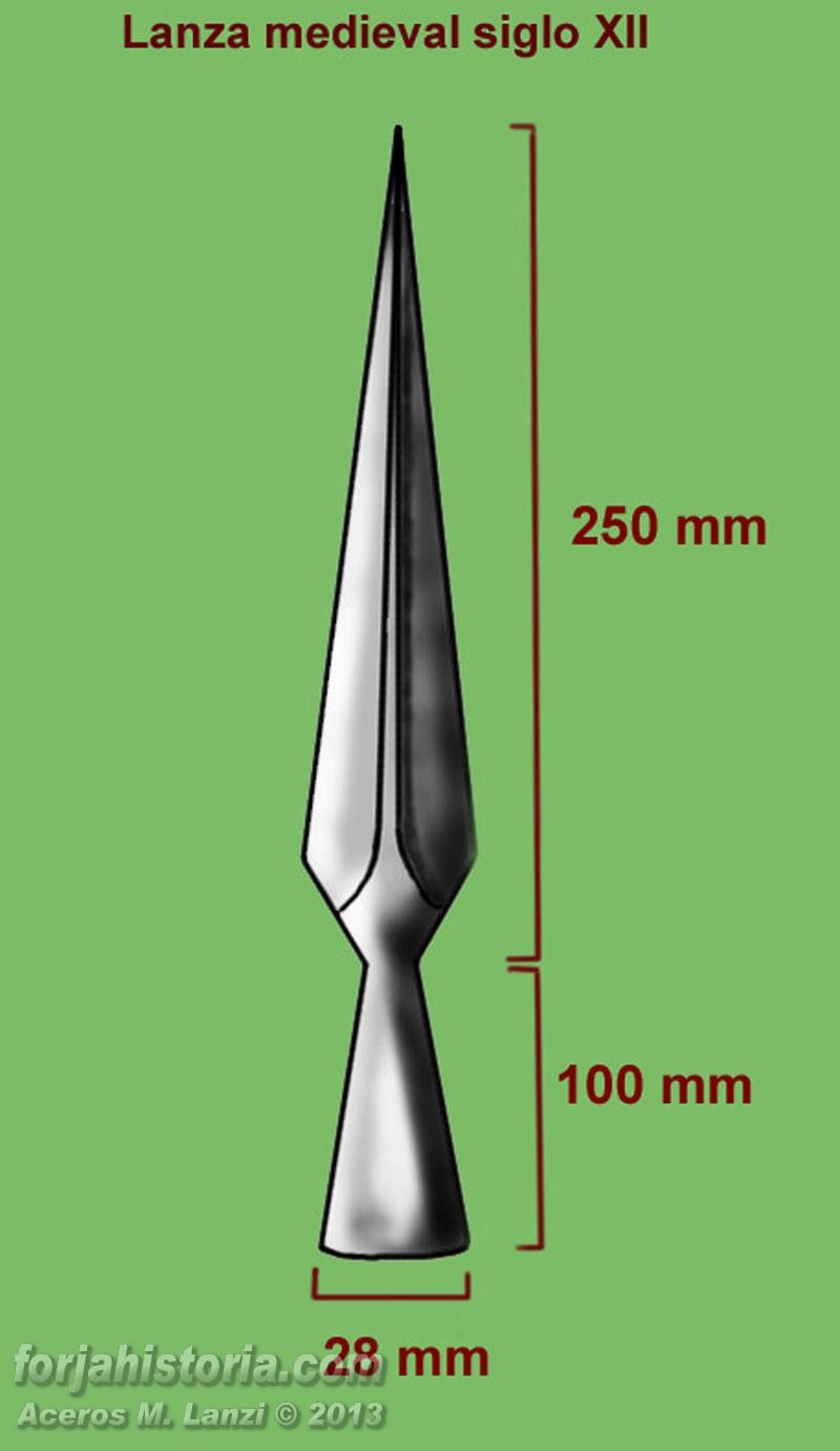 Forja e Historia. Aceros M. Lanzi: Forjando una lanza medieval