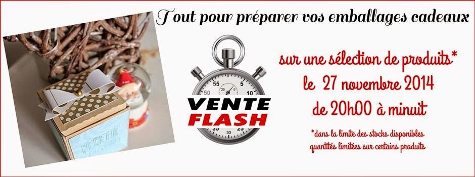 Vente flash du 27-11-14