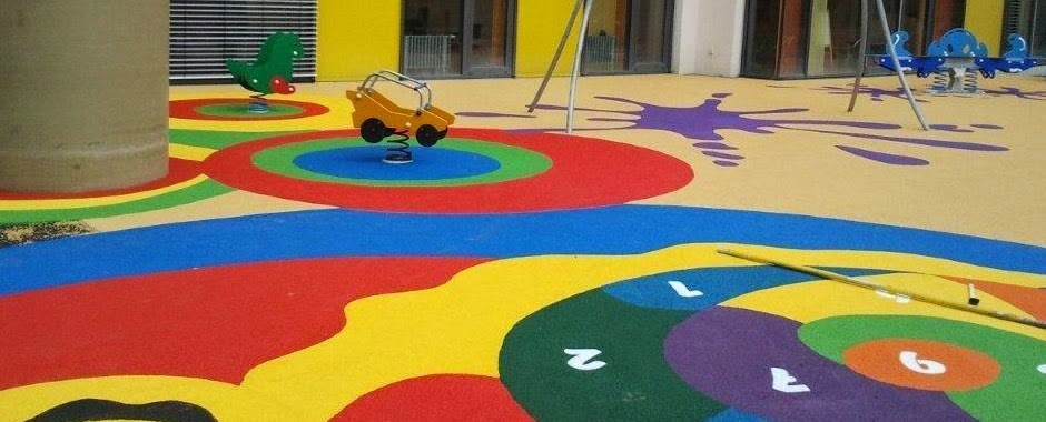The Marvellous Playground Safety Flooring Design Photograph