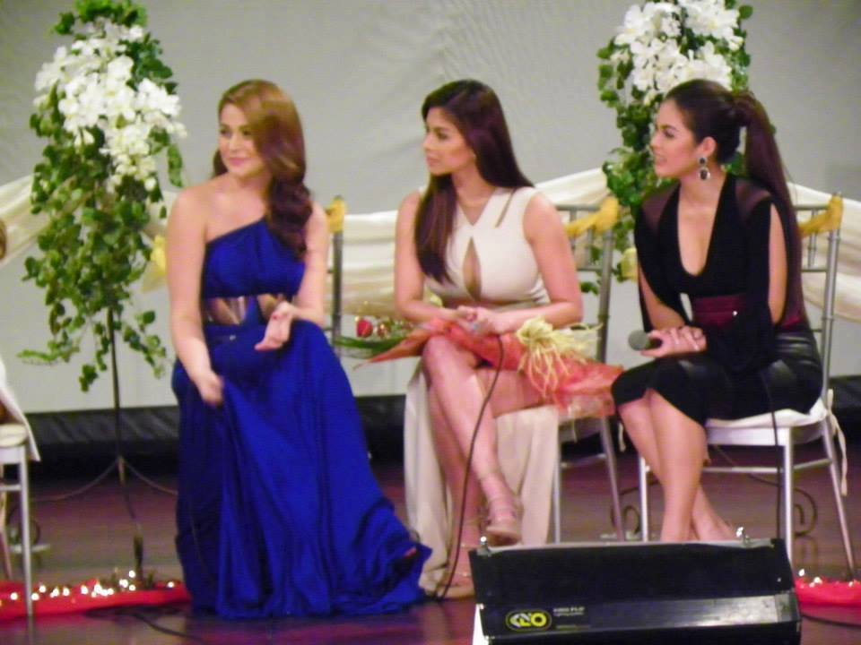 Hot Asian Chickies Angel Locsin At The Four Sisters And A Wedding Press Conference