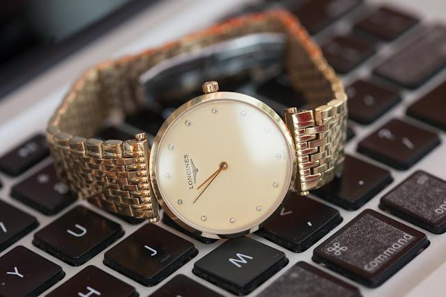 Đồng hồ nam dây inox cao cấp giá rẻ Longines tại Cầu Giấy