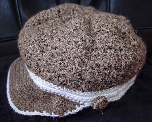 crocheted cap/hat