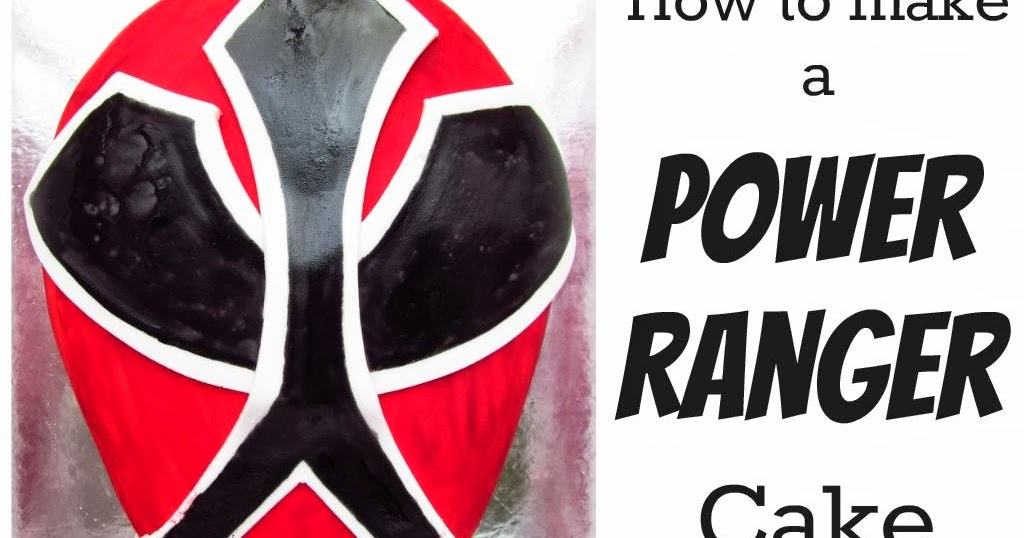 Good Food Shared How To Make A Power Ranger Cake
