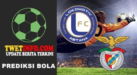 Prediksi Astana vs Benfica