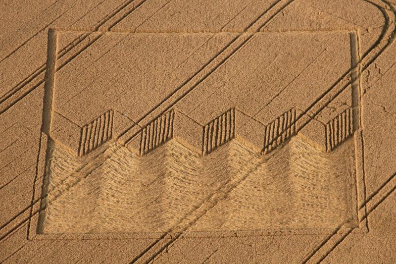 Круги на полях в уилтшире