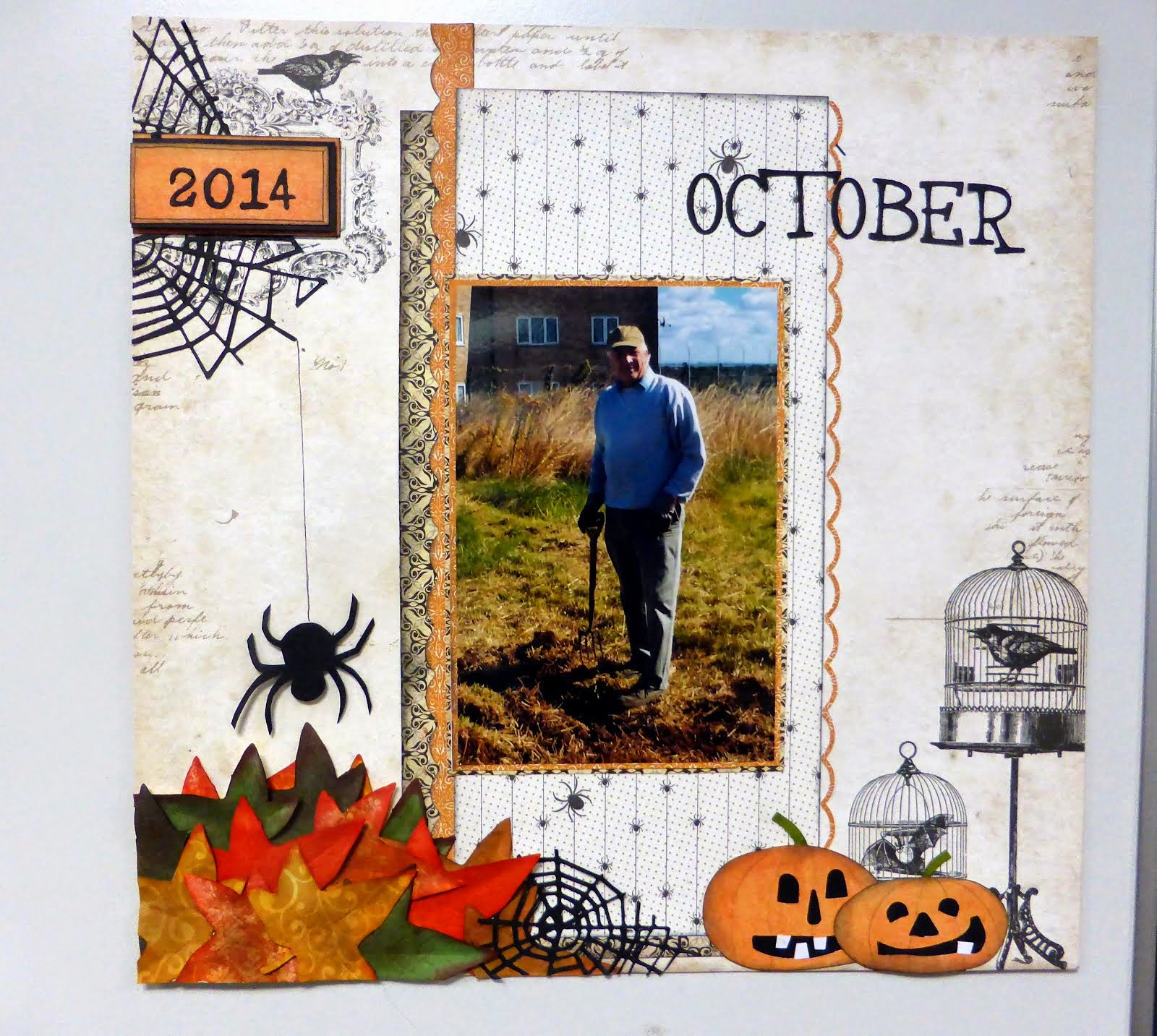 Single Page Layout kit and instructions