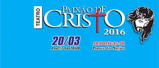 Paixão de Cristo 2016