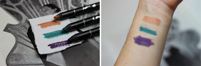 Rimmel Scandaleyes Eye Shadow Stick by Kate Moss Swatches