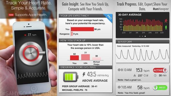 أفضل 3 تطبيقات مجانية لقياس دقات القلب على هواتف أندرويد وآيفون