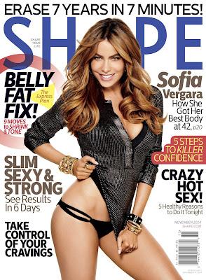 Sofia Vergara Shape Magazine November 2014 Photos