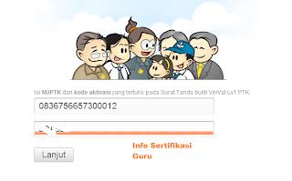 Verifikasi NUPTK Jadi Permanent Aktif 2013 pict