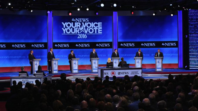 Saturday Night Debate