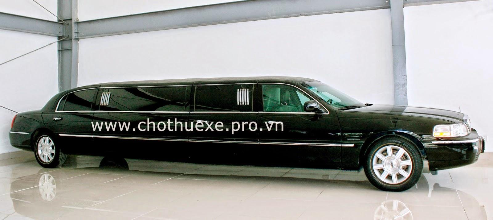 Cho thuê siêu xe Limousine Lincoln