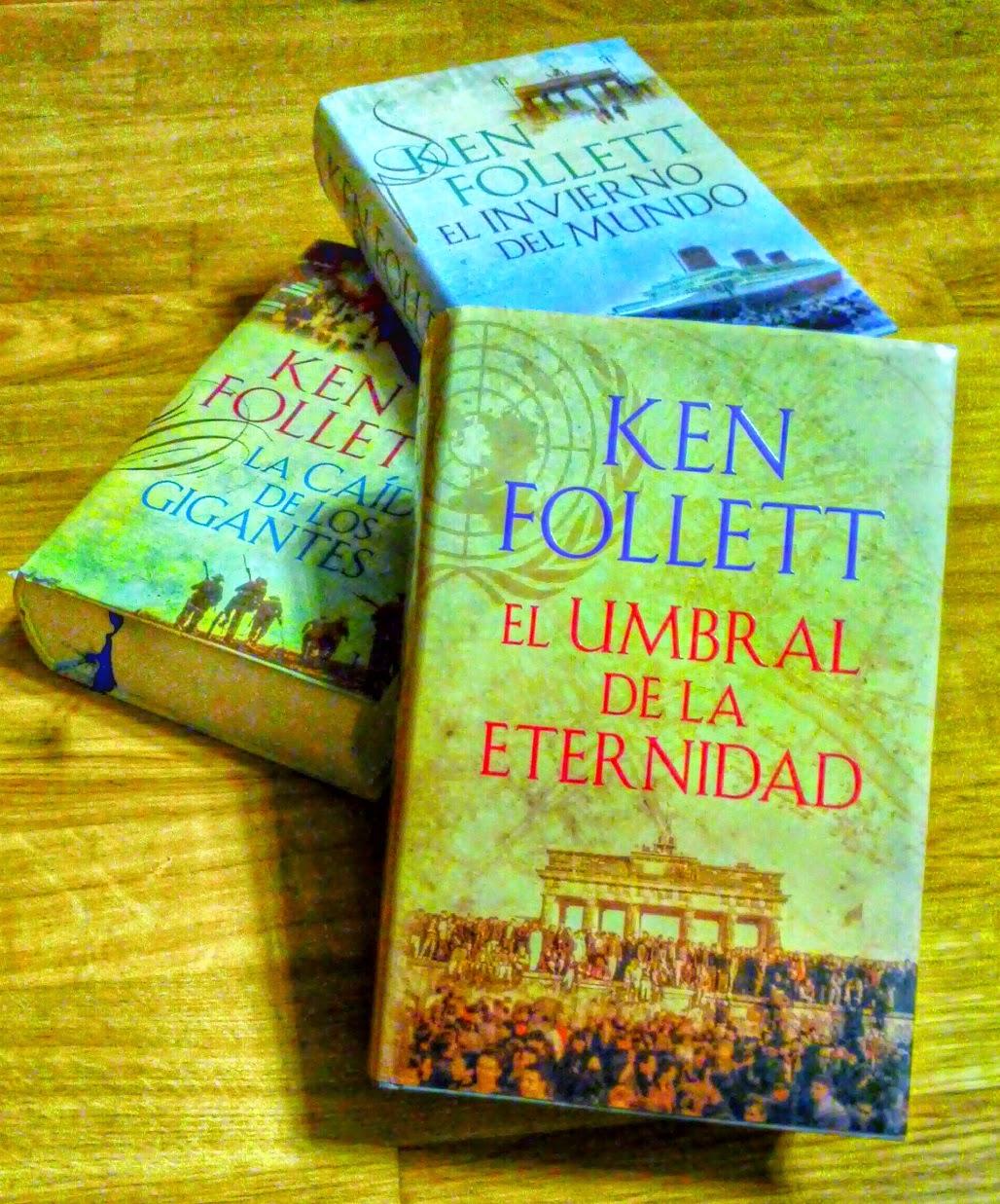 Libros trilogía The Century