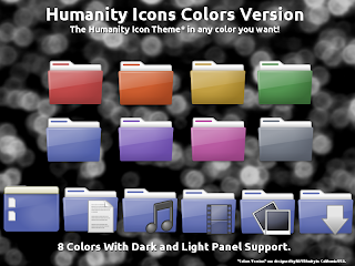 humanity icons colors