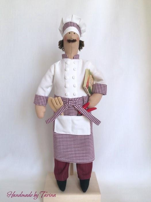 Кукла повар  выкройка 17