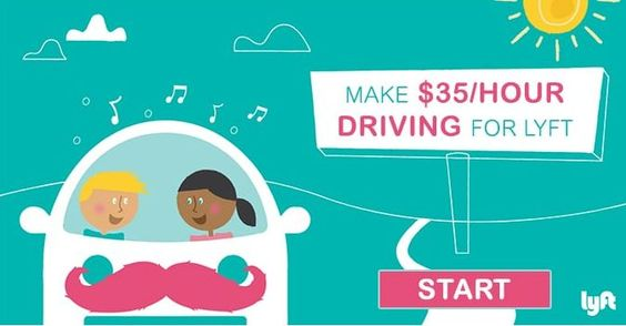 Make $35/Hour Driving For Lyft