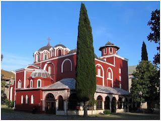 Sveta Gora. Ivironska crkva
