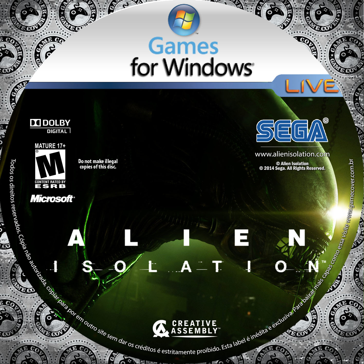 Label Alien Isolation PC [Exclusiva]