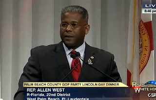 Allen West 'Obama, Reid, Pelosi, take your message and get the hell out of the USA' VIDEO