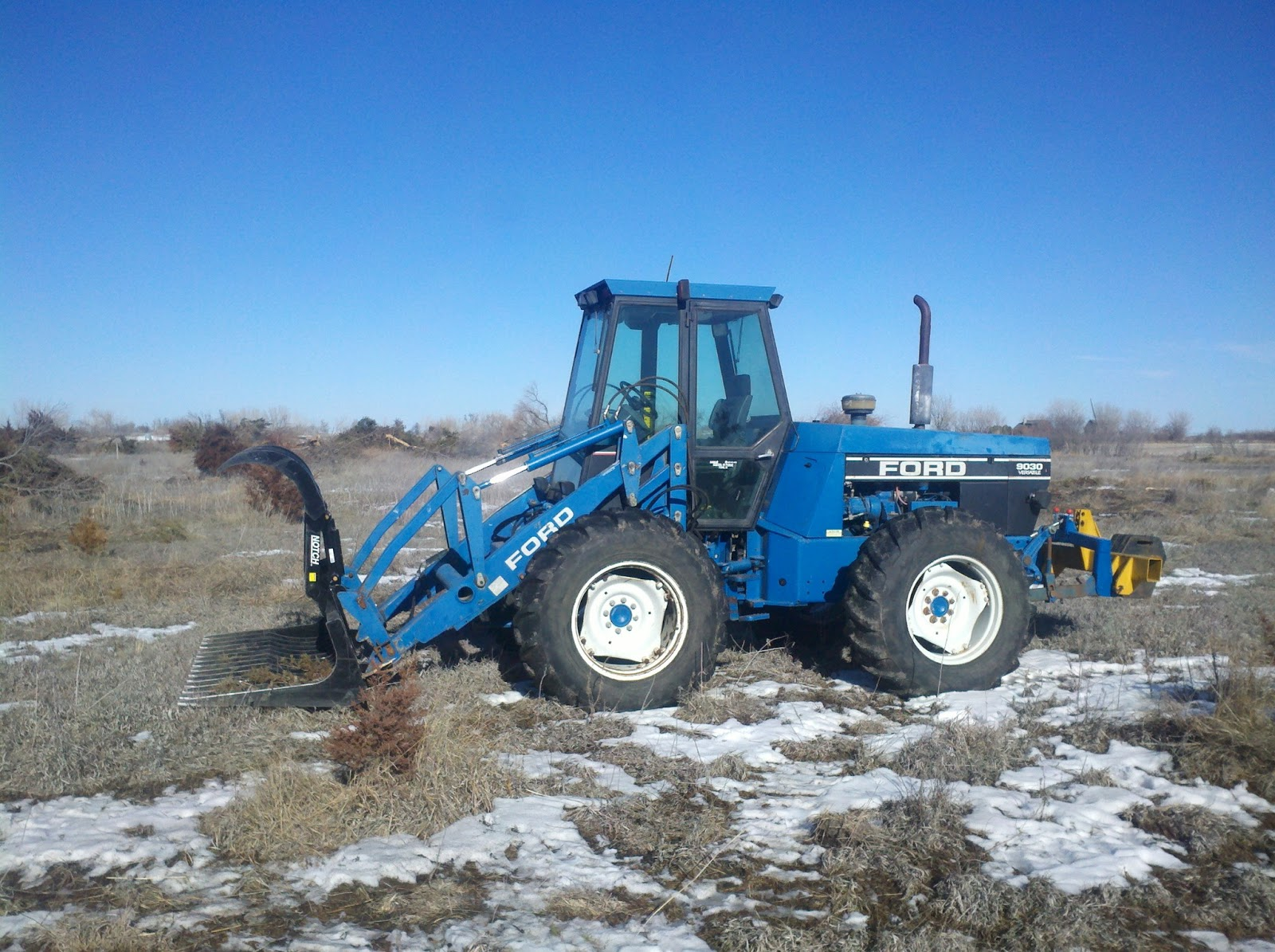 Ford Bi Directional Tractor : Tractor seat confessions january