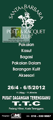 Santa Barbara Polo & Racquet Club Clearance Sale Terengganu