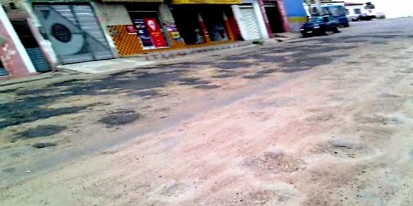 CASCA DE FERIDA: TAPA BURACO NA BA 381 EM ITIÚBA-BA, REALIZADA ATRAVÉS DO GOVERNO DO ESTADO