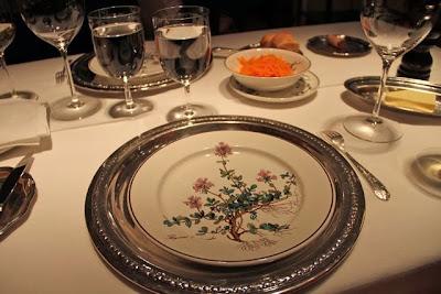 Mesa del Restaurante Zalacaín. Blog Esteban Capdevila