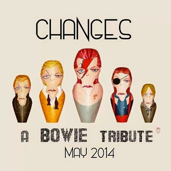 Expo: David Bowie - Changes de la Susanita´s Little Gallery (mayo 2014)