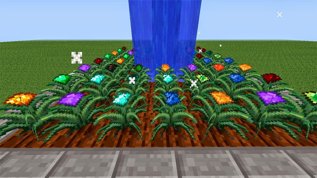 minecraft magical crops