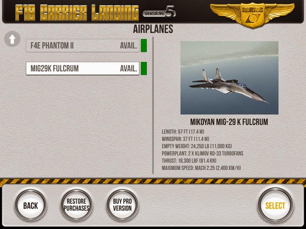 F18 Carrier Landing Lite Hack