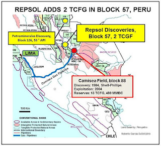 Petroleosinriesgos Repsol Adiciona 2 Tcfg En El Lote 57