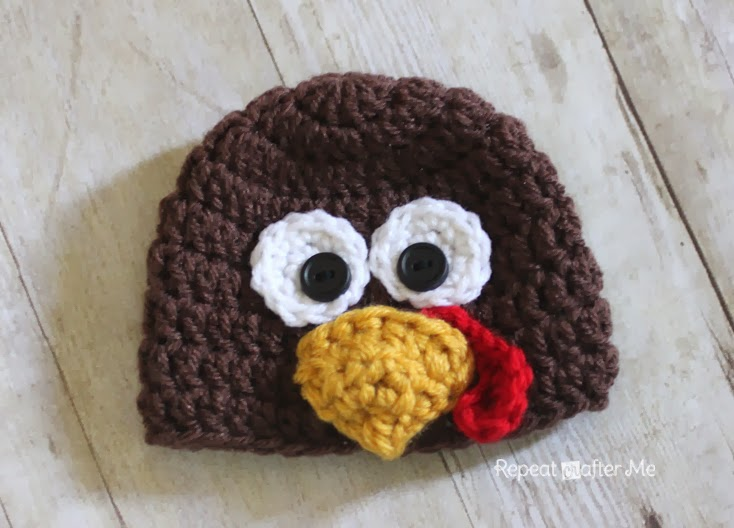 Gallery For > Crochet Turkey Hat