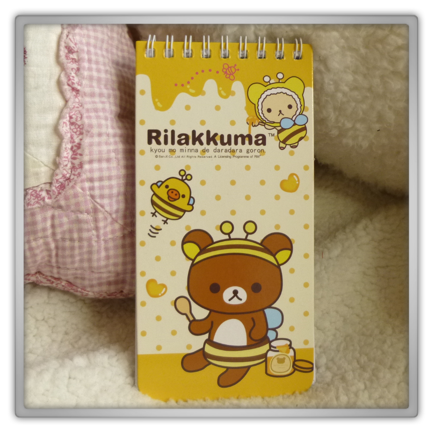 Blippo haul review shoplog rilakkuma kiiroitori korilakkuma notepad bee meets honey kawaii