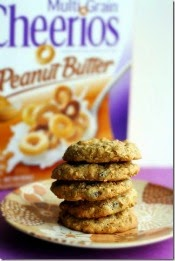 Peanut Butter Cheerio Cookies