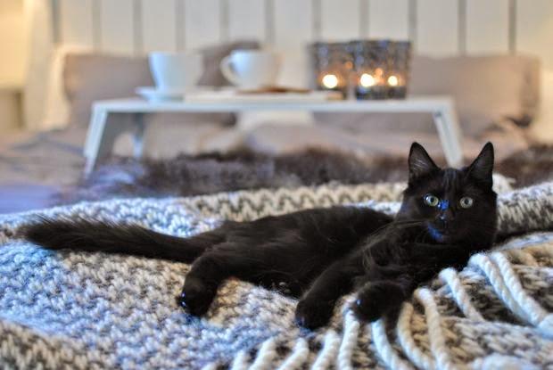 kattunge ullfilt sängbricka
